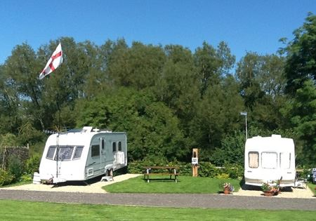Motorhome or Caravan Pitch with Electric