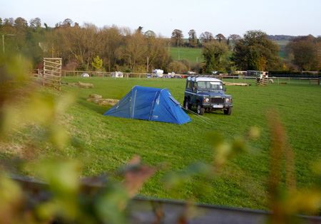 Grass Tent and VW Pitches with Electric