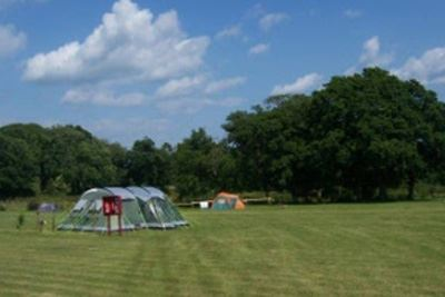 Grass Pitches Tents